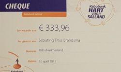 Hart voor Salland Cheque