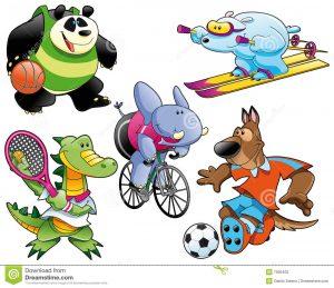 Olympische Jungle spelen (Insigne Sport 5)